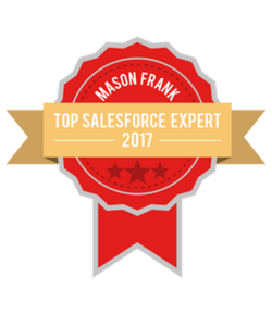 Salesforce Blogger Badge - 2017