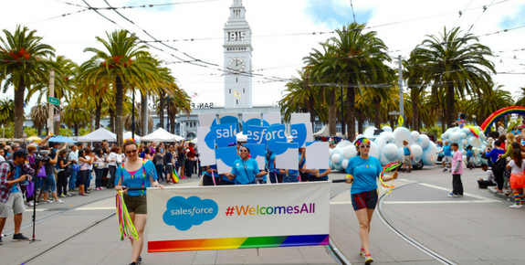 Salesforce At Pride