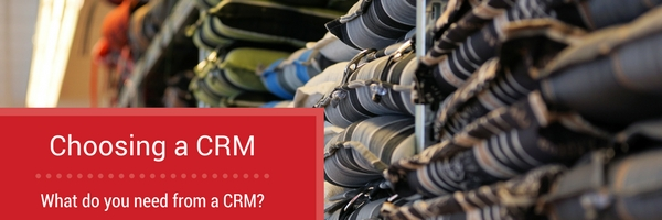 What do you need from a CRM?