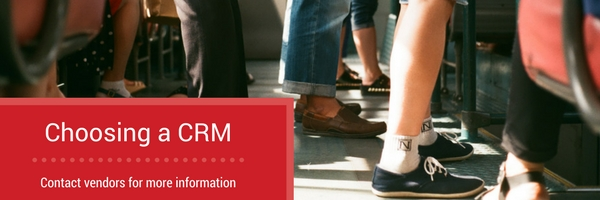 contact crm vendors for more information