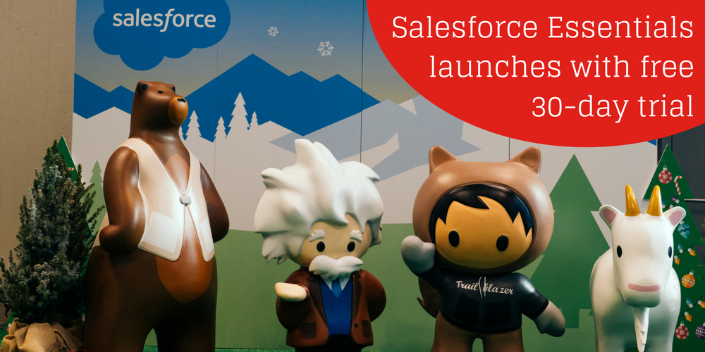 Salesforce Essentials CRM for small businesses