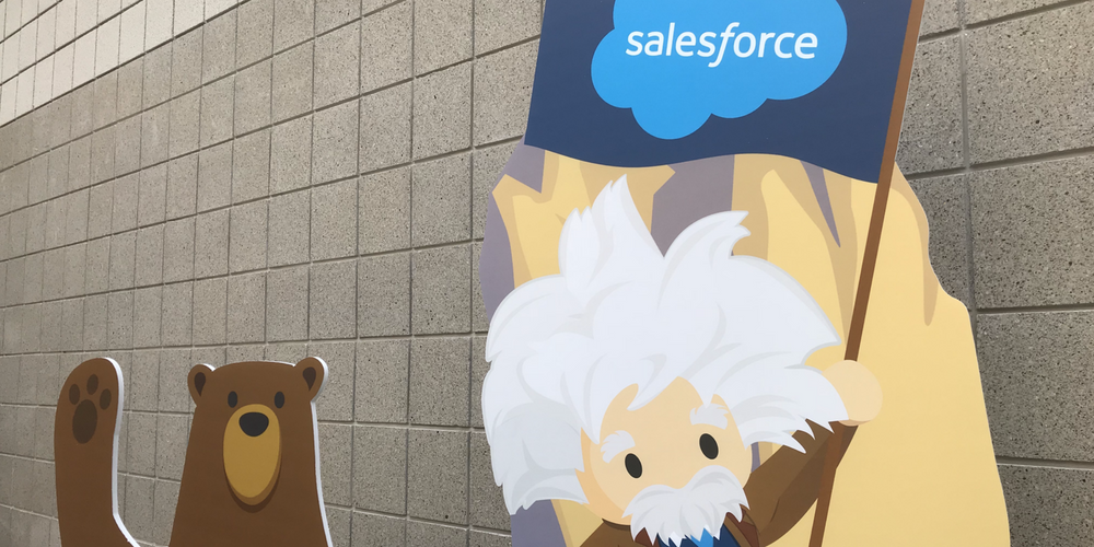 Salesforce 2019 first quarter fiscal results