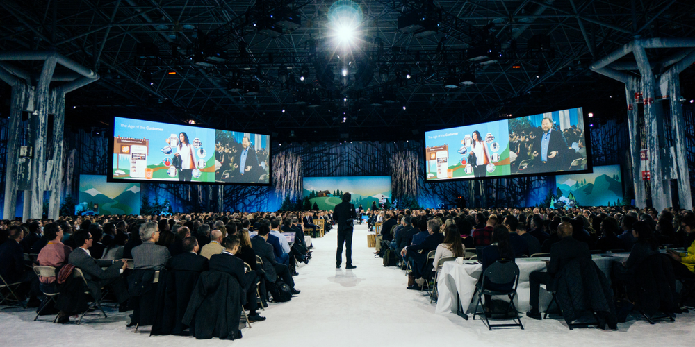 Salesforce named the global leader in CRM