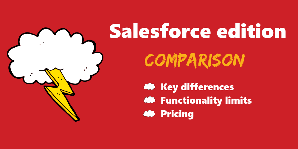Salesforce edition comparison