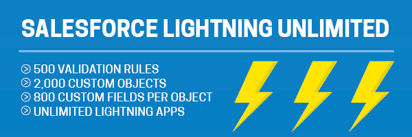 Salesforce Lightning Unlimited pricing cost