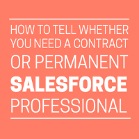 Contract or Permanent Salesforce