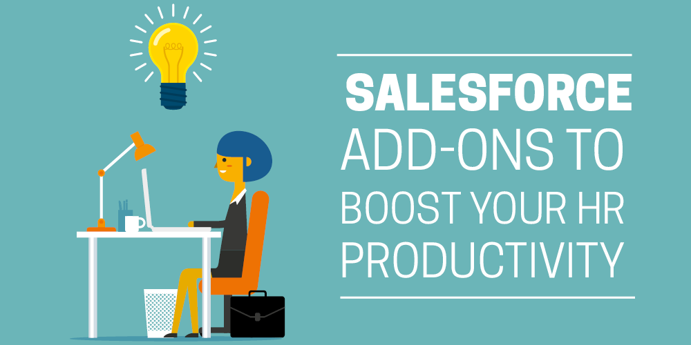 Salesforce add-ons to boost your HR productivity